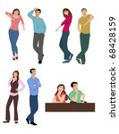 body language | Shutterstock . vector #68428159