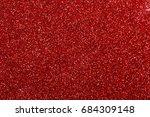 red glitter texture christmas...   Shutterstock . vector #684309148