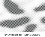 abstract halftone dotted... | Shutterstock .eps vector #684320698