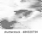 abstract halftone dotted... | Shutterstock .eps vector #684320734