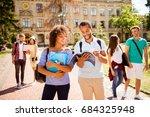 couples of international... | Shutterstock . vector #684325948