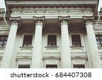 Facade Of Historical Building...