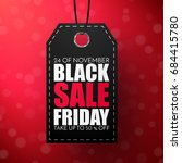 black friday sale abstract... | Shutterstock .eps vector #684415780