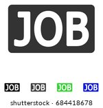 job caption flat vector... | Shutterstock .eps vector #684418678