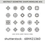 abstract geometric | Shutterstock .eps vector #684421360