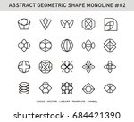 abstract geometric | Shutterstock .eps vector #684421390