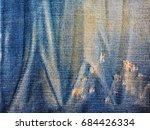 close up blue jeans denim...   Shutterstock . vector #684426334
