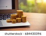 finance and money concept ... | Shutterstock . vector #684430396
