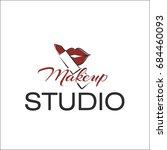 make up studio | Shutterstock .eps vector #684460093