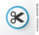 cut icon symbol. premium...