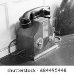 Old Vintage Landline Phone