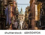 view at the church of san... | Shutterstock . vector #684504934