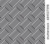 vector seamless pattern.... | Shutterstock .eps vector #684537598