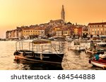 rovinj  croatia   september 24  ... | Shutterstock . vector #684544888
