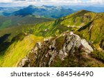 magnificent view of the...   Shutterstock . vector #684546490