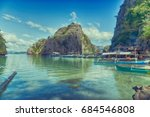 in  philippines  view from a... | Shutterstock . vector #684546808