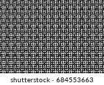 abstract halftone backdrop in... | Shutterstock . vector #684553663