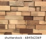 abstract paneling pattern... | Shutterstock . vector #684562369