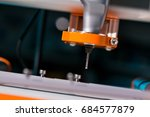 cutting tools for milling... | Shutterstock . vector #684577879
