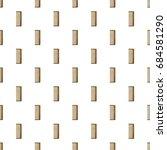 wooden hairbrush pattern   Shutterstock .eps vector #684581290