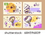 freehand drawn illustration for ... | Shutterstock . vector #684596839