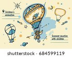 freehand drawn concept image... | Shutterstock . vector #684599119