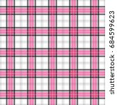 a seamless background plaid...   Shutterstock .eps vector #684599623