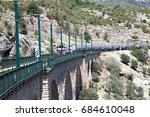 Train Crossing The Bridge