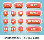set of red candy buttons for...