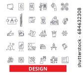 design  layout  plan  cover ... | Shutterstock .eps vector #684632308