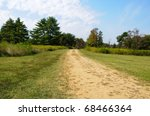 historic trail through the lands of Cowpens National Battlefield