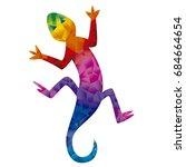 lizard | Shutterstock .eps vector #684664654