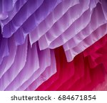 colored fabric satin decoration ... | Shutterstock . vector #684671854
