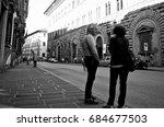 florence  italy   june 25  2014 ... | Shutterstock . vector #684677503