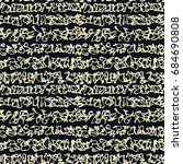 textile seamless graffiti... | Shutterstock .eps vector #684690808