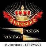 illustration vintage background ... | Shutterstock .eps vector #684694078