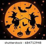 Halloween Vector Elements Set....