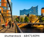 hamburg  germany   circa may... | Shutterstock . vector #684714094