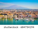 catania sicily  italy | Shutterstock . vector #684734194