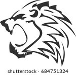 lion's logo in vector | Shutterstock .eps vector #684751324