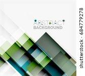abstract vector blocks template ... | Shutterstock .eps vector #684779278