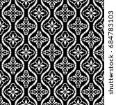 vector seamless pattern modern... | Shutterstock .eps vector #684783103