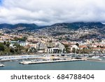 Funchal City View From Harbor....