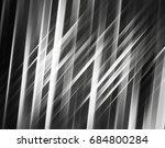 geometric grey intersecting... | Shutterstock . vector #684800284