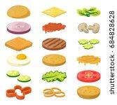 illustration of different...   Shutterstock . vector #684828628