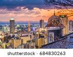 kobe  japan historic homes and... | Shutterstock . vector #684830263