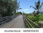 South Beach Boardwalk  Miami...