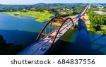 pennybacker bridge or 360... | Shutterstock . vector #684837556
