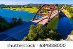 pennybacker bridge or 360... | Shutterstock . vector #684838000