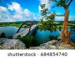 pennybacker bridge or 360...   Shutterstock . vector #684854740